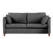 Bari Sofa Bed With Memory Foam Mattress, Malva Graphite