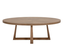 Belgrave Coffee Table, Dark Stained Oak