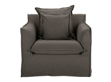 Belleville Armchair, Ash Grey