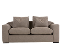 Christian 3 Seater Sofa, Fawn Weave