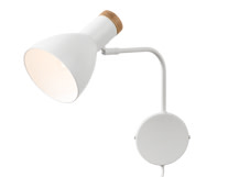 Cohen Wall Lamp, White