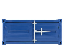 Container Small Cabinet, Steel Blue