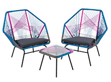Copa Outdoor Aperitif Set, Spectrum Pink