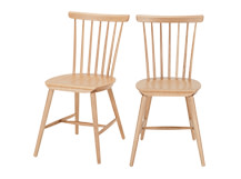 2 x Deauville Dining Chairs, Oak