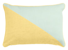 Elbert Rectangular Cushion 35 x 50cm, Petal Yellow