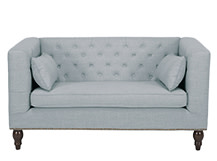 Flynn 2 Seater Sofa, Persian Grey