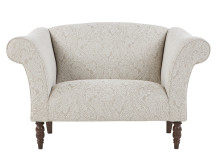Garston Love Seat, Gala Natural