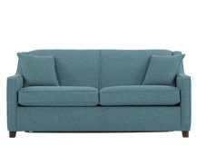 Halston Sofa Bed, Teal Weave