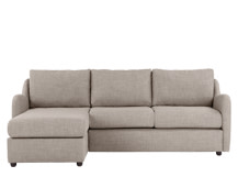 Hamlyn Left Hand Facing Corner Sofa, Shadow Slate Grey