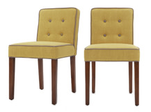 2 x Hoxton Dining Chairs, Pistachio Green