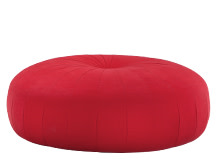 Hubbard Rotating Ottoman, Poppy Red