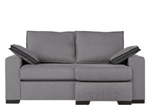 Hugo 4 in 1 Chaise Sofa Bed, Osprey Grey
