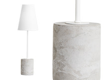 Ira Table Lamp, White
