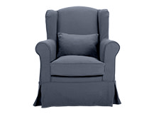 Isla Armchair, Cornflower Blue