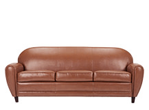 Jazz Club 3 Seater Sofa, Cognac