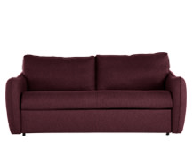 Jefferson Large Sofa Bed, Tweed Malbec