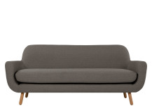 Jonah 3 Seater Sofa, Stone Grey