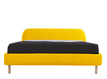 Jonah Kingsize Bed, Dandelion Yellow