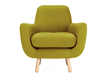 Jonah Armchair, Fennel Green