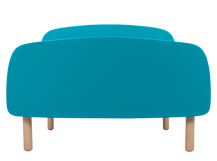 Jonah Single Bed, Teal