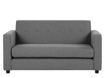 Joshua 2 Seater Sofa, Steel