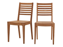 2 x Loki Dining Chairs, Oiled Oak