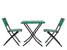 Mali Bistro Set, Palm Green
