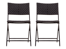 2 x Mali Chairs, Black