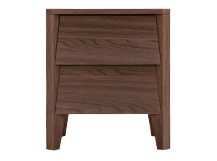 Mara Bedside Table, Walnut