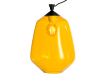 Marguerite Handcrafted Pendant Lamp, Amber