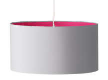 May Medium Pendant Shade, Neon Pink