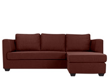 Newark Corner Sofa, Clay Brown