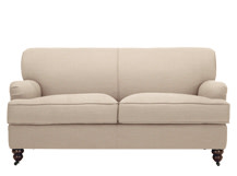 Orson 2 seater sofa, Biscuit Beige