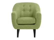Mini Ritchie Armchair, Lime Green