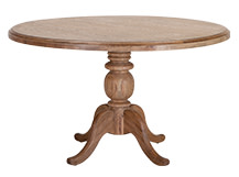 Rochelle Round Dining Table, Oak