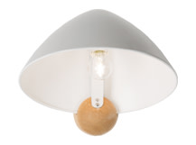 Sable Wall Lamp, Grey