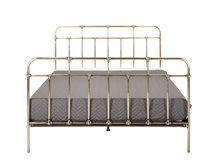 Starke Double Bed, Brass