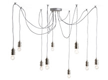 Starkey Chandelier, Nickel