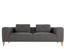 Sullivan 3 Seater Sofa, Ludo Grey