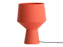 Tuli Table Lamp, Coral
