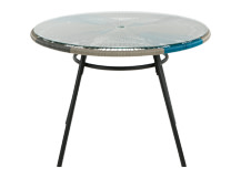 Copa Outdoor Dining Table, Cool Blue