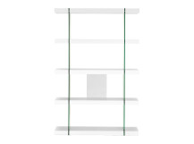 Esco Shelving Unit, White