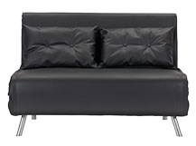 Haru Small Sofa bed, Garnet Black