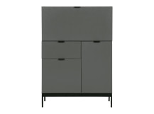 Marcell Desk Bureau, Grey
