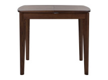 Monty Extending Dining Table, Dark Stain Ash