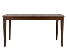 Large Monty Extending Dining Table, Dark Stain Ash