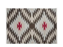 Hex Spot Rug 170 x 240cm, Coal Grey