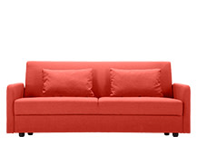 Weston Sofa Bed, Mars Orange