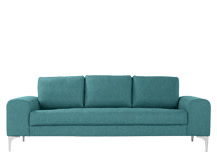 Vittorio 3 Seater Sofa, Teal