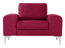 Vittorio Armchair, Opera Red